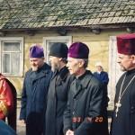 od lewej:śp.ks.Mikołaj Wakułowicz,ks.Leoncjusz Tofiluk,śp.ks.Włodzimierz Bliźniuk, ks.Eugeniusz Nielipiński
