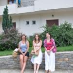 przed hotelem u Iliasa