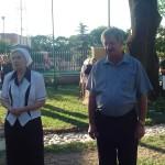 Lidia Korszak -prosfornica i Mikołaj Mironiuk-starosta