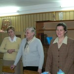 od prawej:Walentyna Kruk,śp.Anna Daniluk, Ludmiła Żyluk