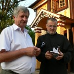 starosta Mikołaj Mironiuk i ks.Aleksy