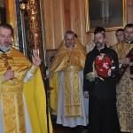 kler parafialny: ks.Jerzy Bogacewicz,ks.Aleksy Kuryłowicz, ks.Piotr Snarski i diakon ks.Marcin Kuźma