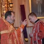 ks.Jerzy Bogacewicz i diakon ks.Marcin Kuźma