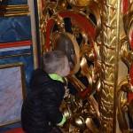 mały Aleksander Kuźma,synek diakona