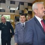 wicemarszałek Walenty Korycki, komendant policji Wojciech Rutkowskia