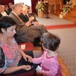 żona p.burmistrza Krystyna z córeczką Natalią