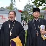 ks.Jerzy Bogacewicz i ks.Adam Dzienisiuk