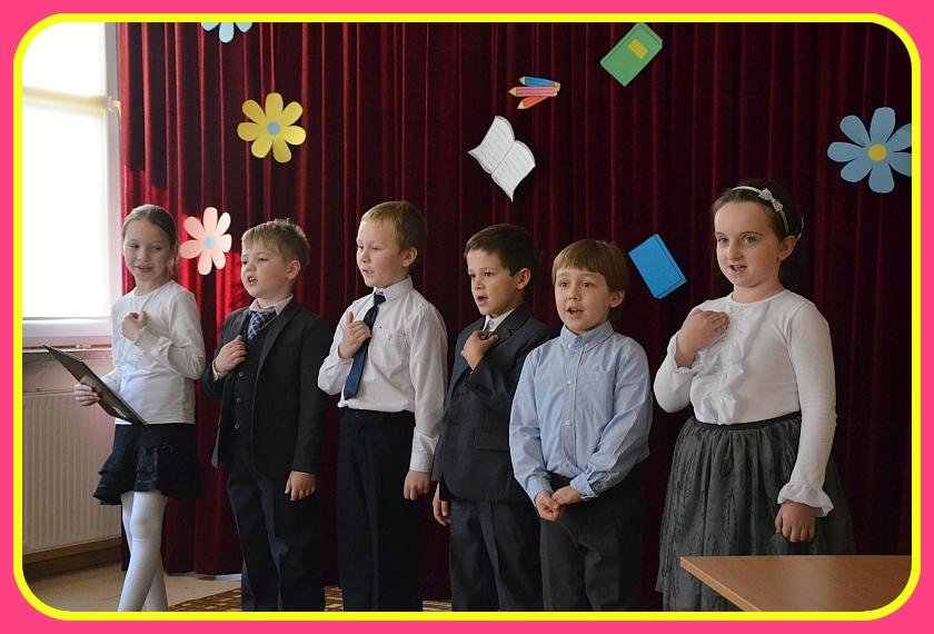 Uczniowie z Niepublicznej Szkoły Podstawowej